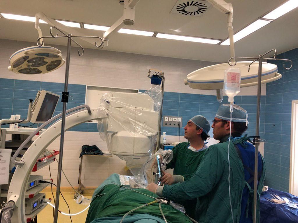 جراحی PCNL توسط دکتر طباطبایی